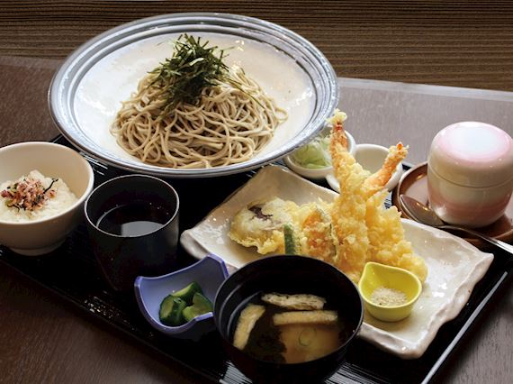 Lunch image at Kirari Tempra soba